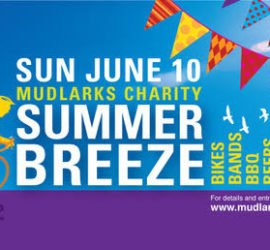 Sunday 10 June Mudlarks Charity Summer Breeze